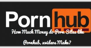 How Much Money do Porn Sites like Pornhub, xvideos Make?