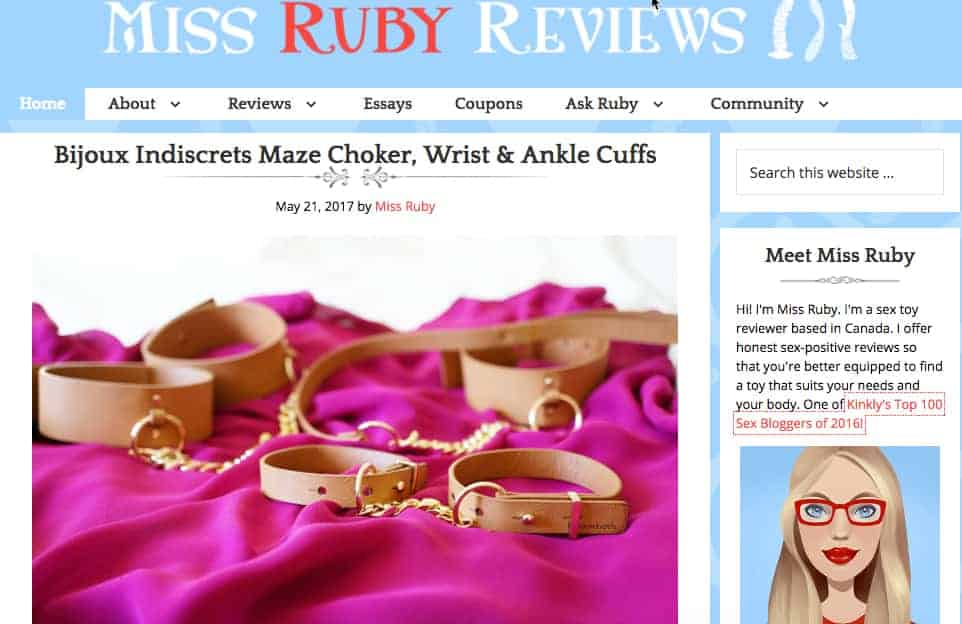 miss ruby reviews