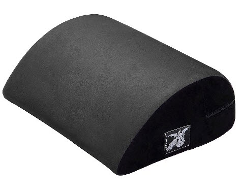 Liberator Jaz Positioning Pillow, Charcoal-min