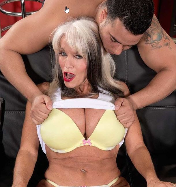 Blonde grannies porn stars
