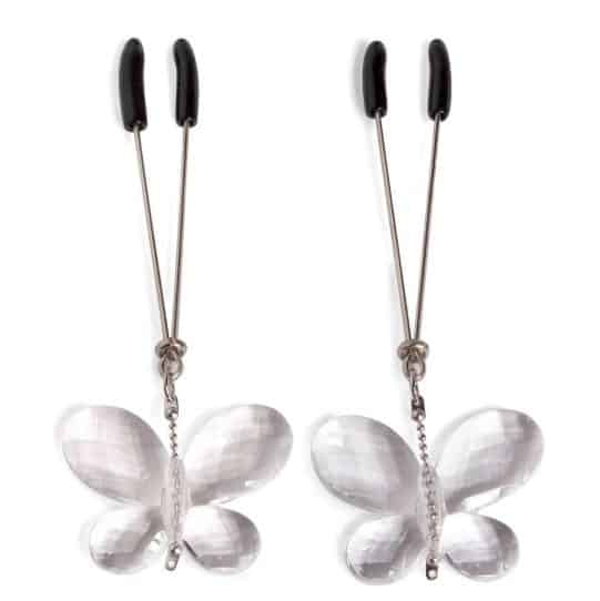 Bad Kitty Butterfly Nipple Clamps-min