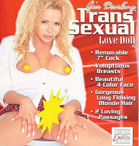 California Exotics Gia Darling Transsexual Love Doll