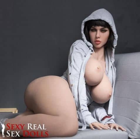 Ryan Davis 163cm (5ft4') H-cup Thicc and Fat Butt Sex Doll with Big Curves - Shakira... also called Jasmine