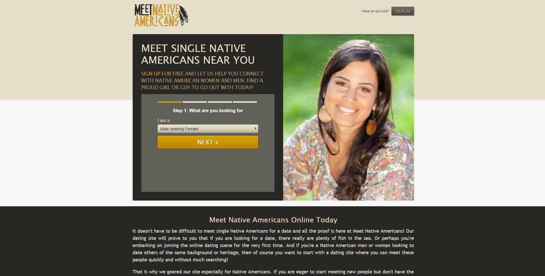 Meet Single Native Americans Near You