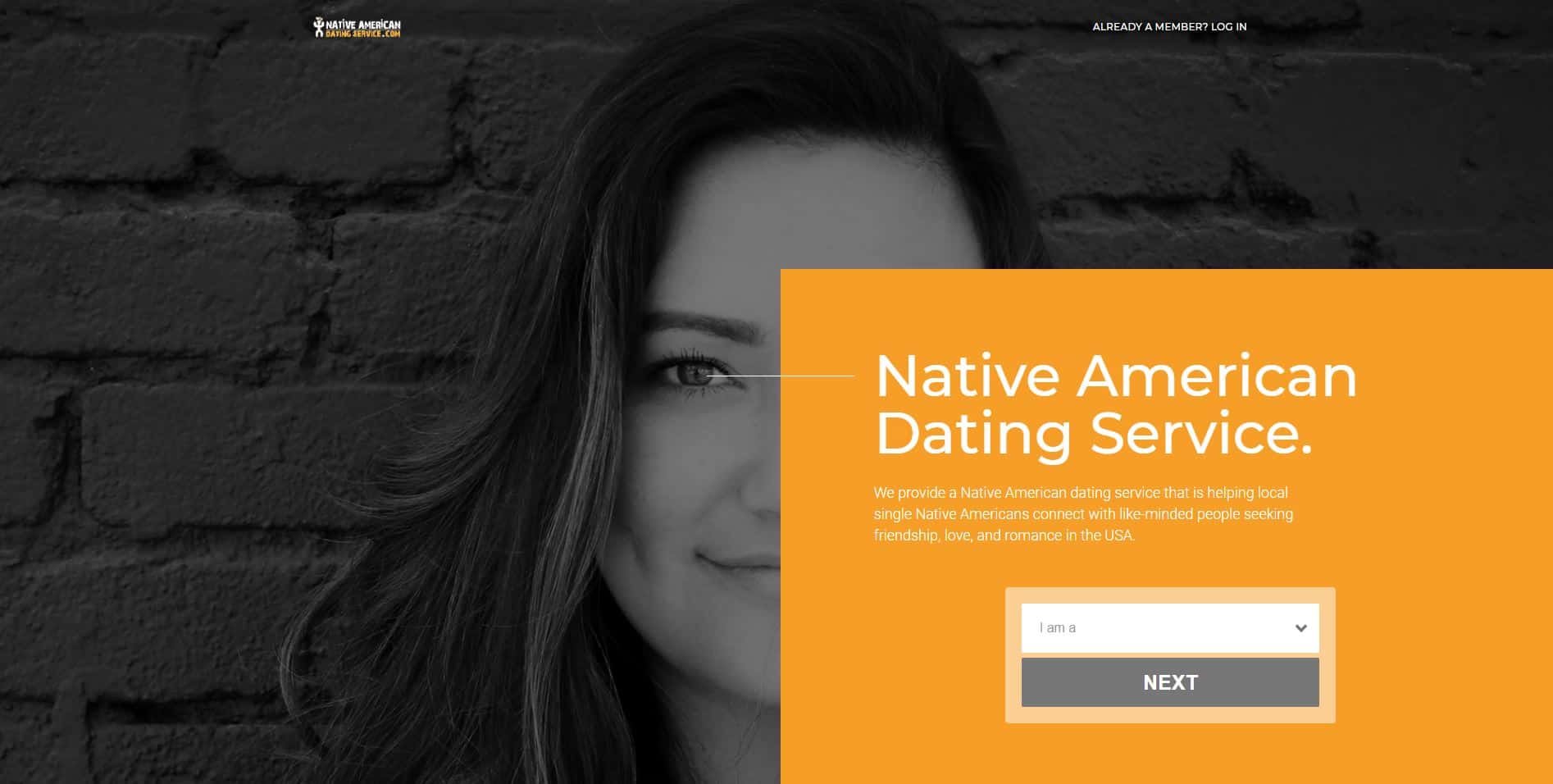 Native american dating services