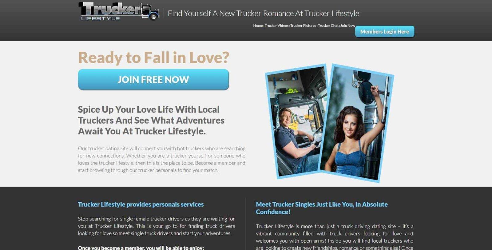 gratis dating sites voor truckers Online Dating voor wetshandhaving